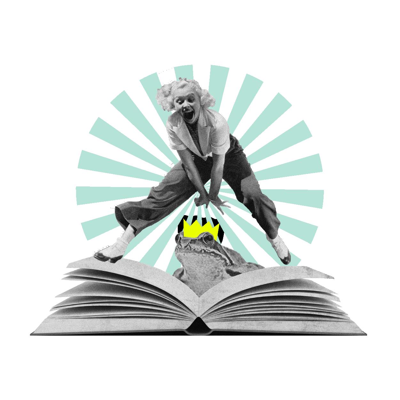 Contant nd Storytelling Service Illustration